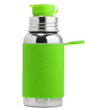 Load image into Gallery viewer, Pura Sport 550 Stainless Steel Bottle - Green