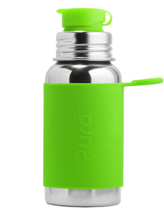 Pura Sport 550 Stainless Steel Bottle - Green