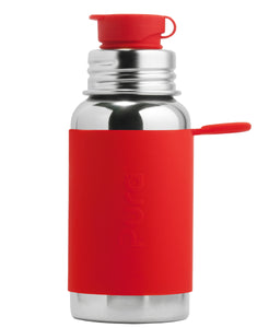 Pura Sport 550 Stainless Steel Bottle - Red