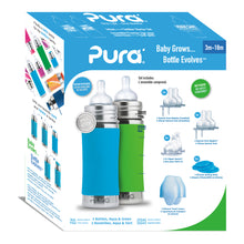 Load image into Gallery viewer, Pura Kiki 325ml Starter Kit Aqua/Green