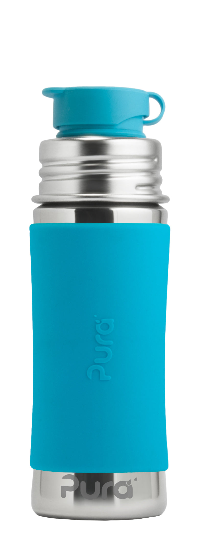 Pura Sport Mini 325 Stainless Steel Bottle - Aqua