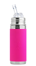 Load image into Gallery viewer, Pura Kiki 260ml Insulated Straw Stainless Steel Bottle - Pink