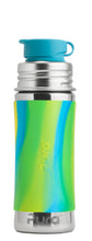 Load image into Gallery viewer, Pura Sport Mini 325 Stainless Steel Bottle - Aqua Swirl
