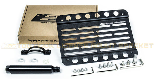 EOS For 14-Up BMW F22 2-Series w// PDCFront Tow Hook License Plate Bracket
