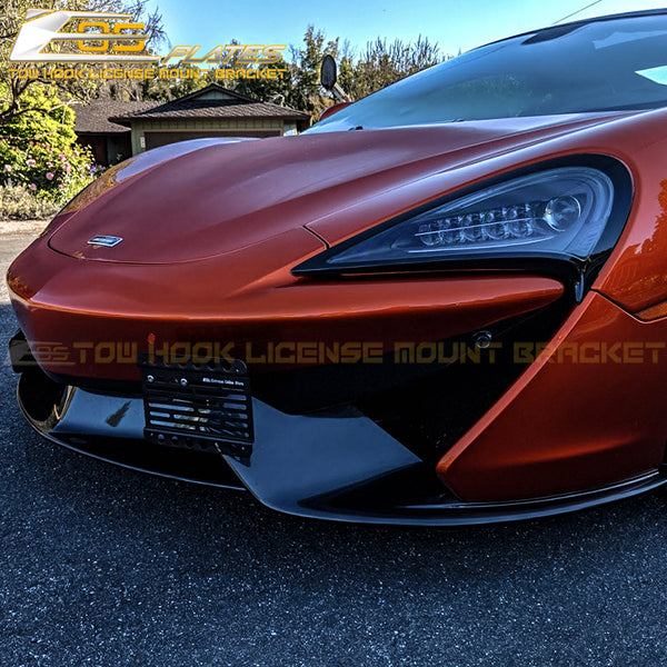 2016-Up McLaren 570S Tow Hook License Plate Mount Bracket