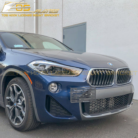 2018-Up BMW X2 F39 Tow Hook License Plate Mount Bracket