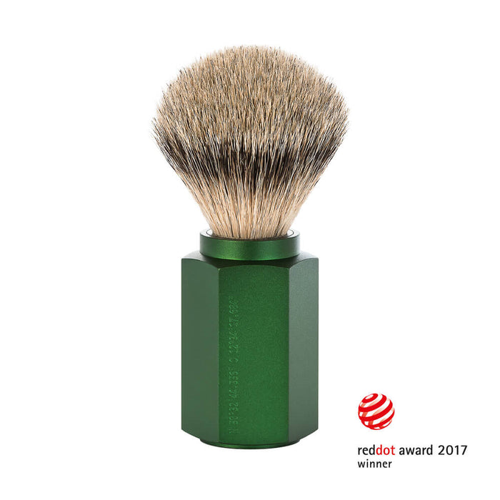 Muhle Hexagon Silvertip Badger Shaving Brush
