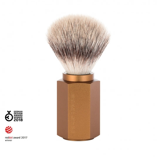 Muhle Silvertip Fibre Hexagon Shaving Brush