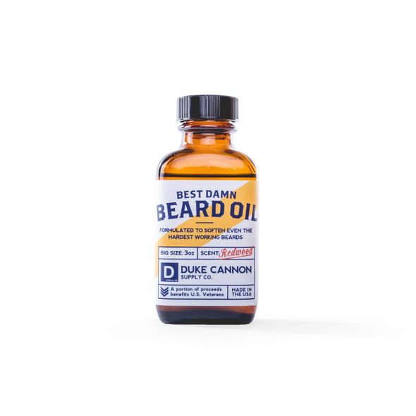 Duke Cannon Beard Oil