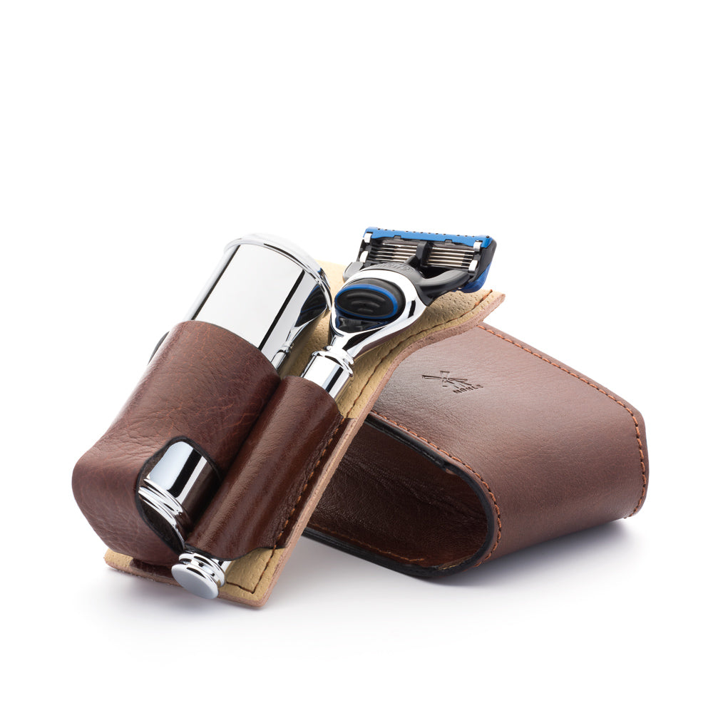 Muhle Leather Case for Shaving Kit