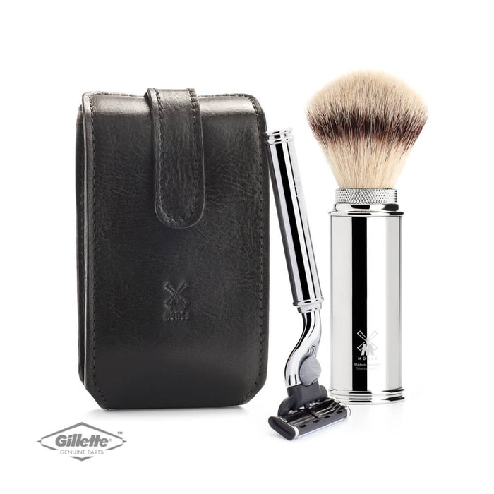 Muhle Leather Case with Shaving Kit