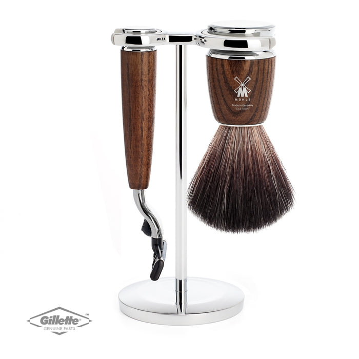 Muhle Rytmo Mach3 Cartridge Razor Shaving Set