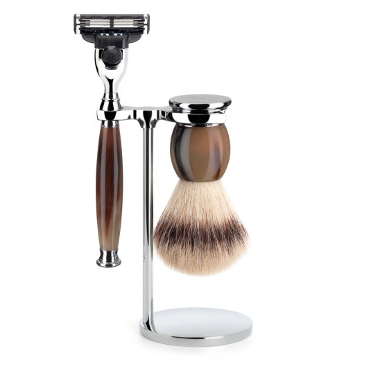 Muhle Sophist Mach3 Cartridge Razor Shaving Set