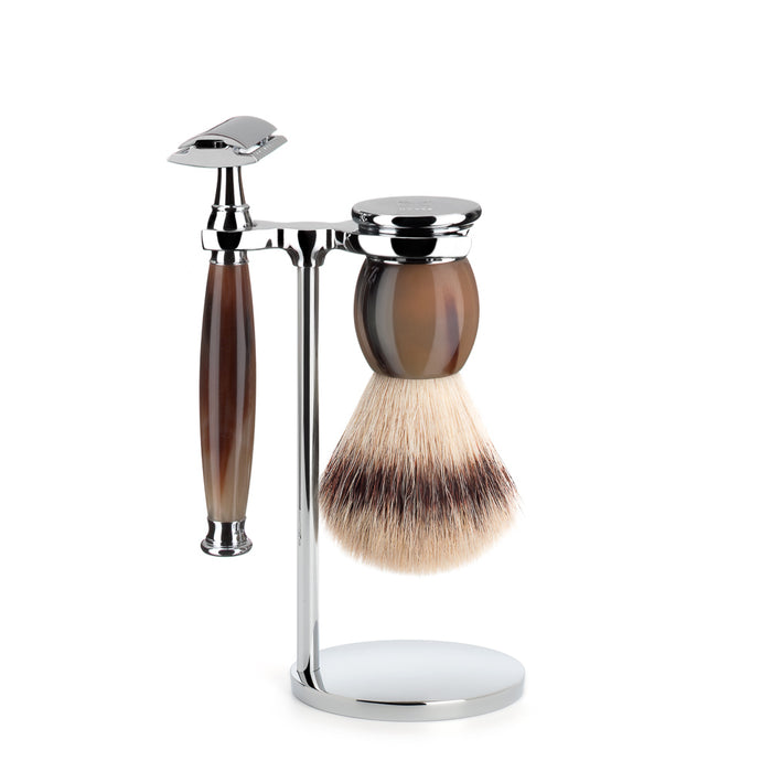 Muhle Sophist Closed Comb Safety Razor Shaving Set