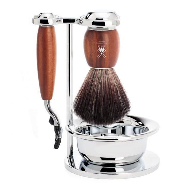 Muhle Vivo Mach3 Cartridge Razor Shaving Set