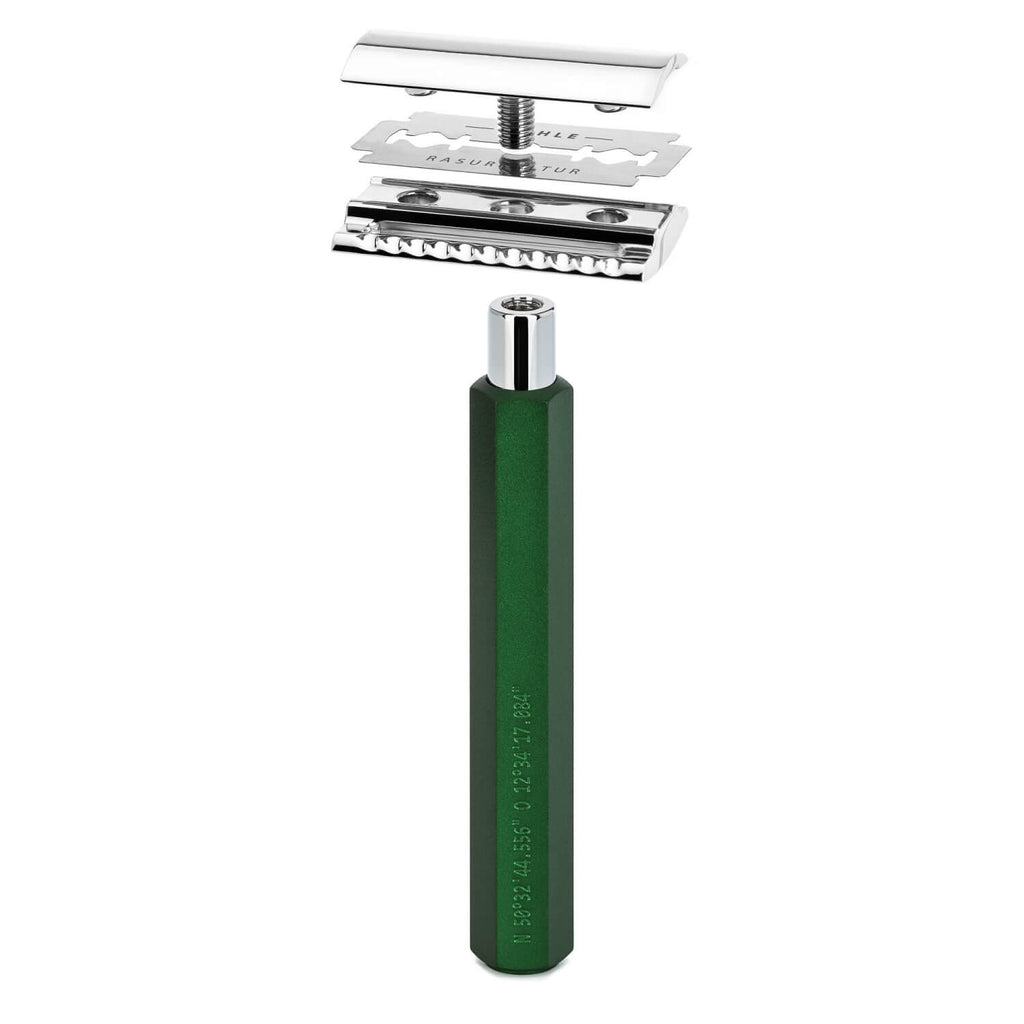 Muhle Hexagon Closed Comb Safety Razor