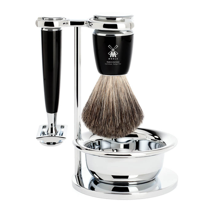 Muhle Rytmo Closed Comb Safety Razor Shaving Set