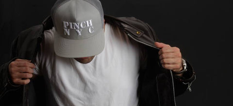 Jason wearing a Pinch NYC snapback