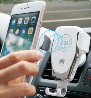 Free Shipping !!! Qi Fast Wireless Charger Car Mount (Top-Selling)