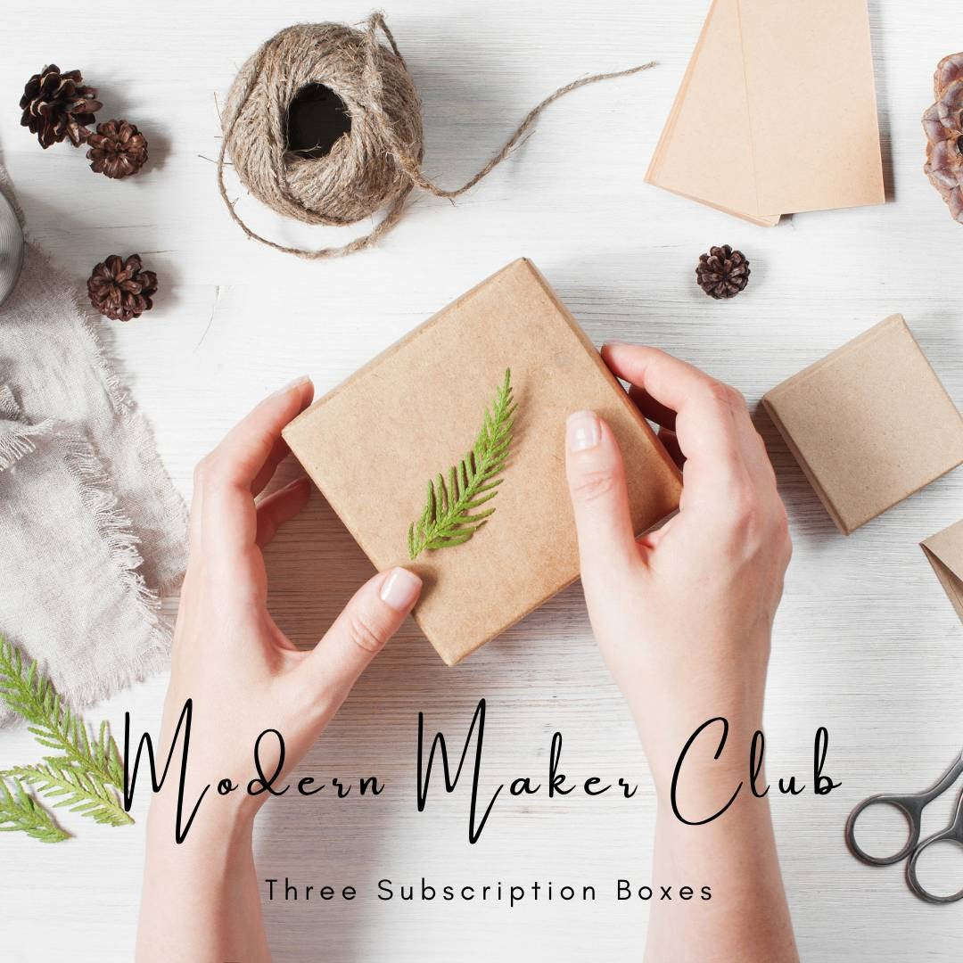 Modern Maker Club Craft Kit Box | Subscription Craft Boxes