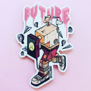 AI Blues Sticker