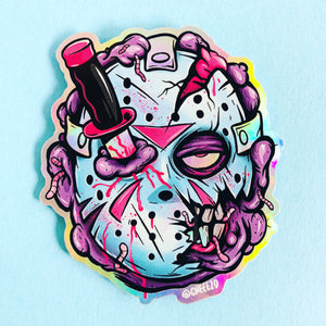 Monster Voorhees Sticker