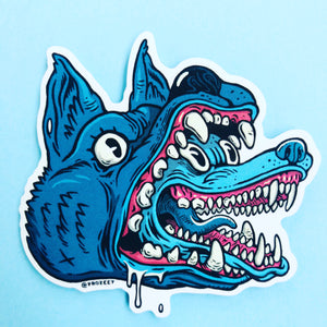 Dog Eat Dog Sticker