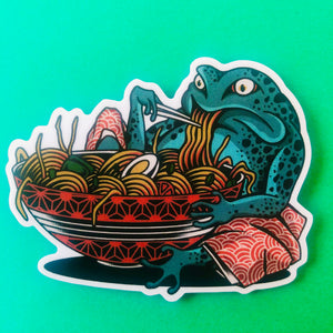 Toad Bowl Sticker