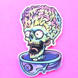 Ack! Ack! Ack! Sticker