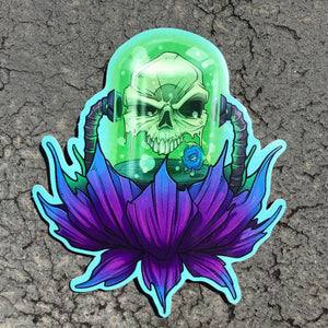Toxic Bloom Sticker