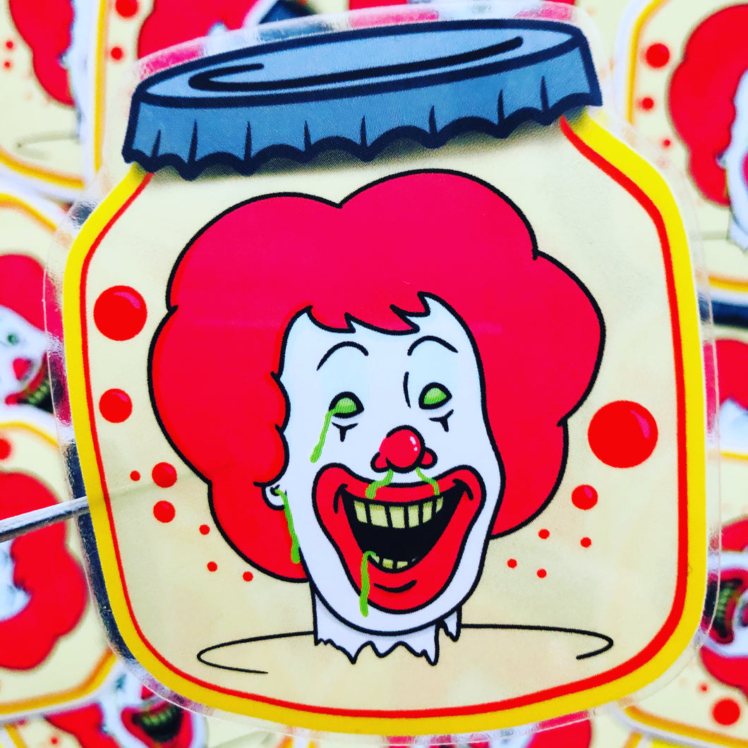Pickled Ronald Sticker