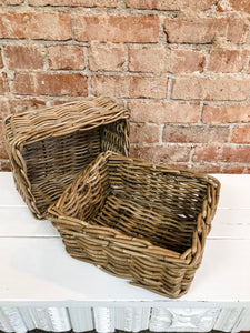 Square baskets