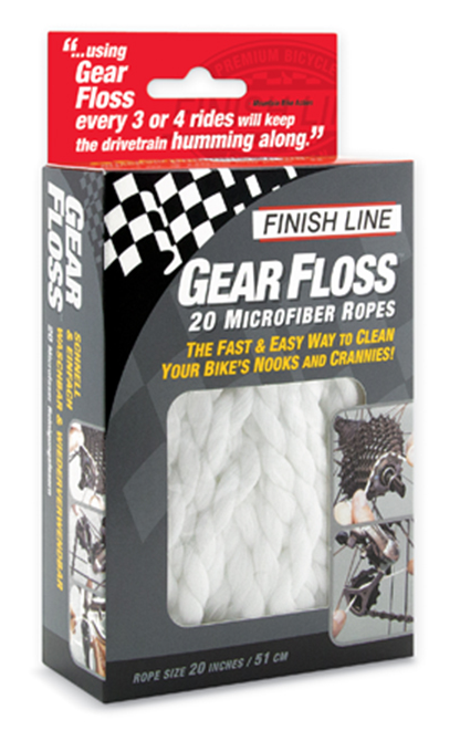Finish Line Gear Floss Kit 20pcs - FINISH LINE - Accessoires de velos/Nettoyants et lubrifiants
