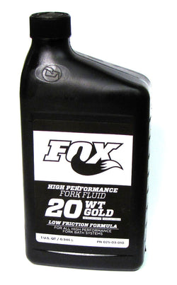 FOX 20WT SUSPENSION OIL - FOX - Accessoires de velos/Nettoyants et lubrifiants