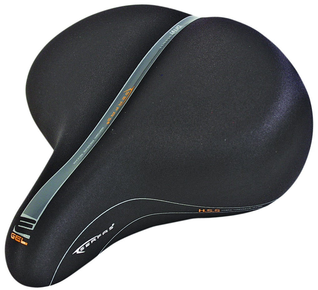 SERFAS CRUISER E-GEL VINYL SADDLE - SERFAS - Pieces de velo/Selles