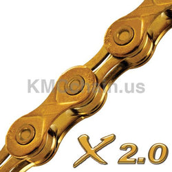 Chaine KMC X10 Or 10V - KMC - Pieces de velo/Transmission/Chaines