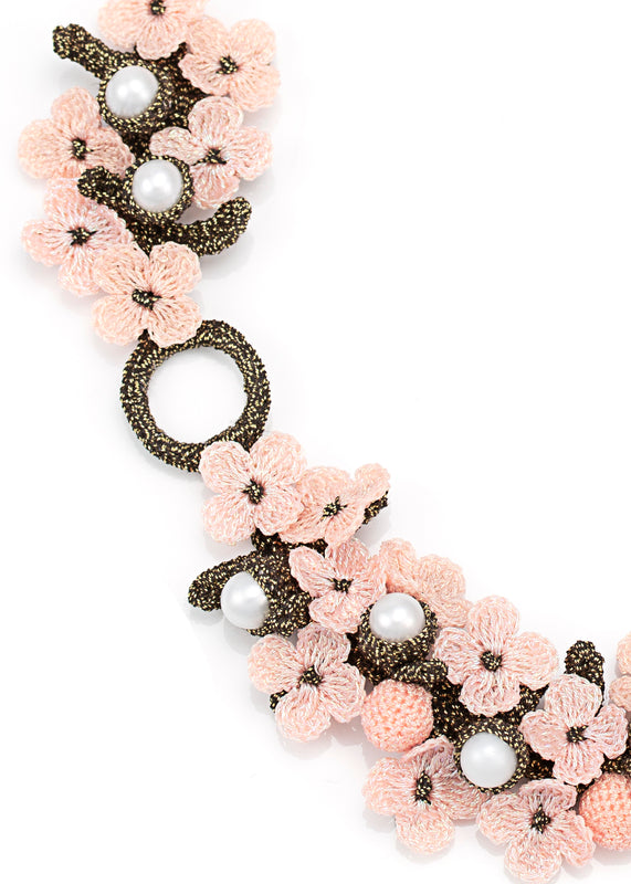 Chenonceau Pink Necklace
