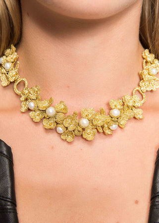 Chenonceau Gold Necklace
