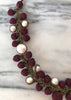 Latour Burgundy Necklace