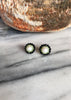 Ermengarde Pearl Black Spinel Earrings