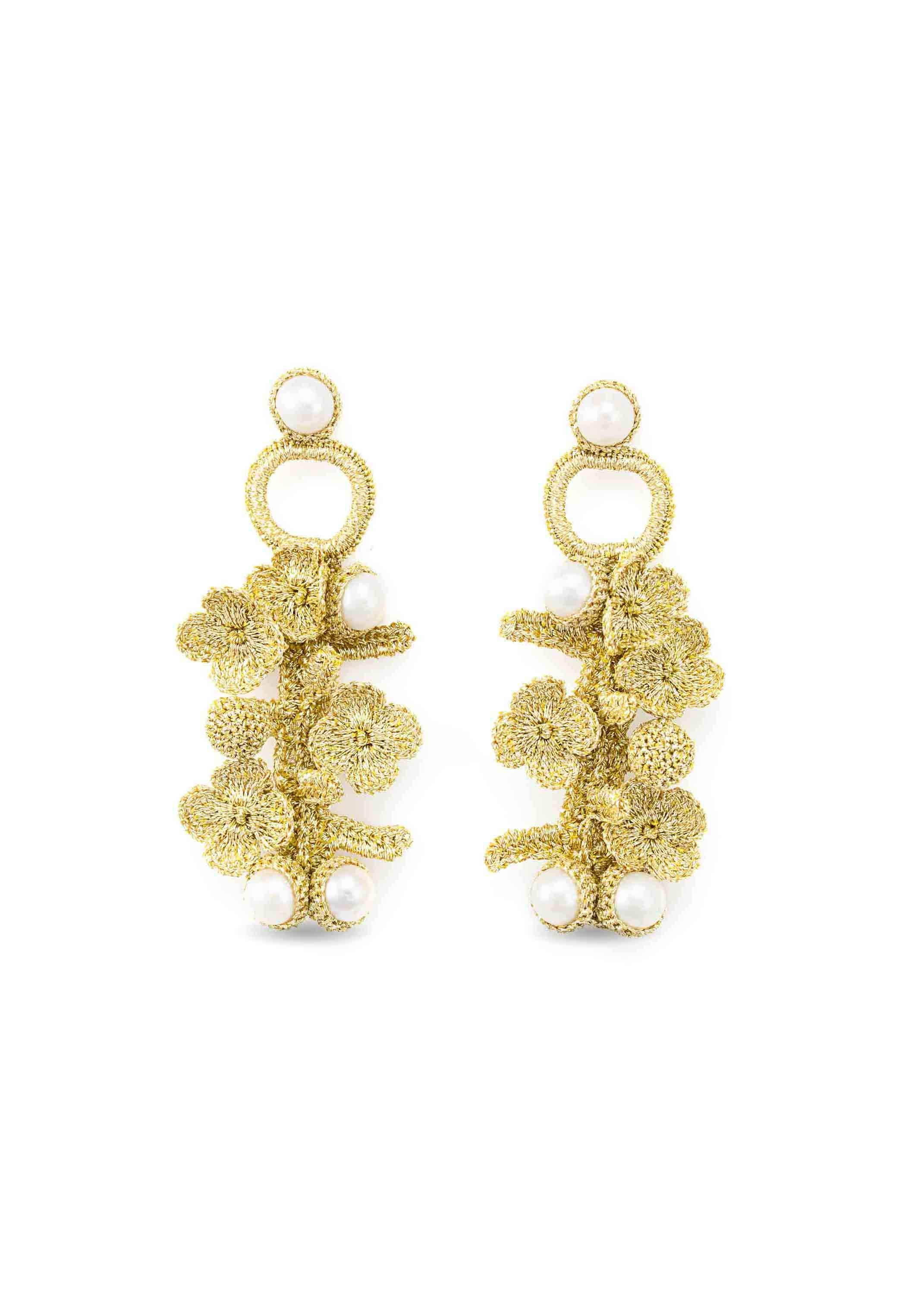 luxembourg earrings gold atelier godole