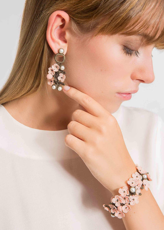 luxembourg earrings pink atelier godole2