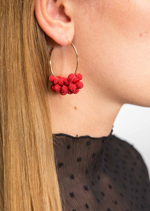 La Romanée Hoops Earrings