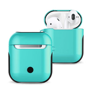 Airpods Case For Bluetooth Wireless Earphone Anti-Knock Glossy Protective Cover