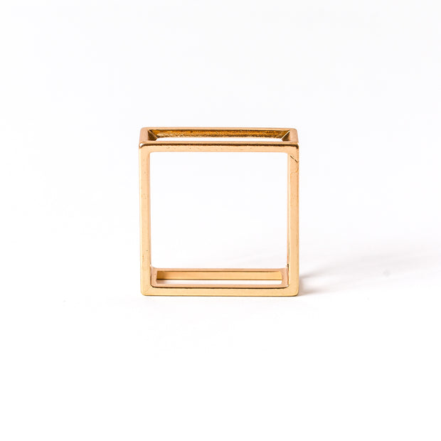 Princier Gold Napkin Holders - Square (4 per set)