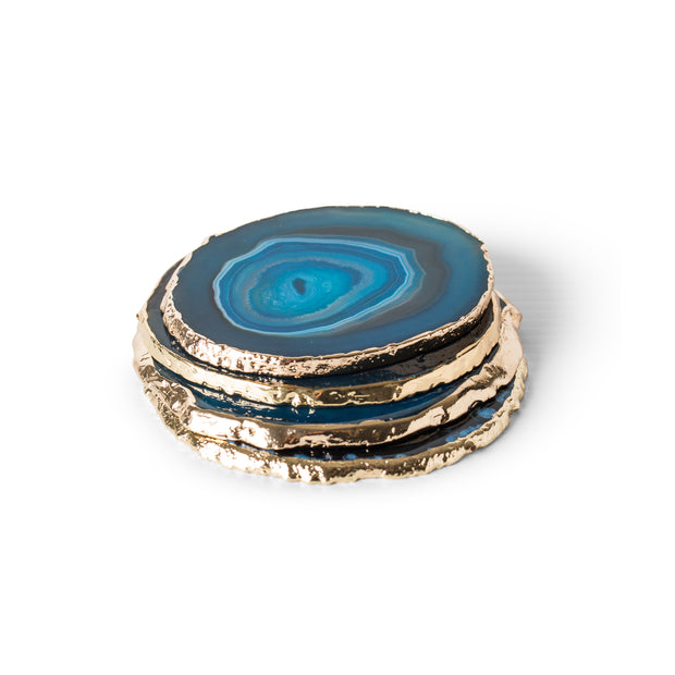 Agate Blue Reine Coasters (4 per set)