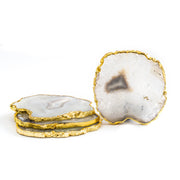 Agate Natural Reine Coasters (4 per set)