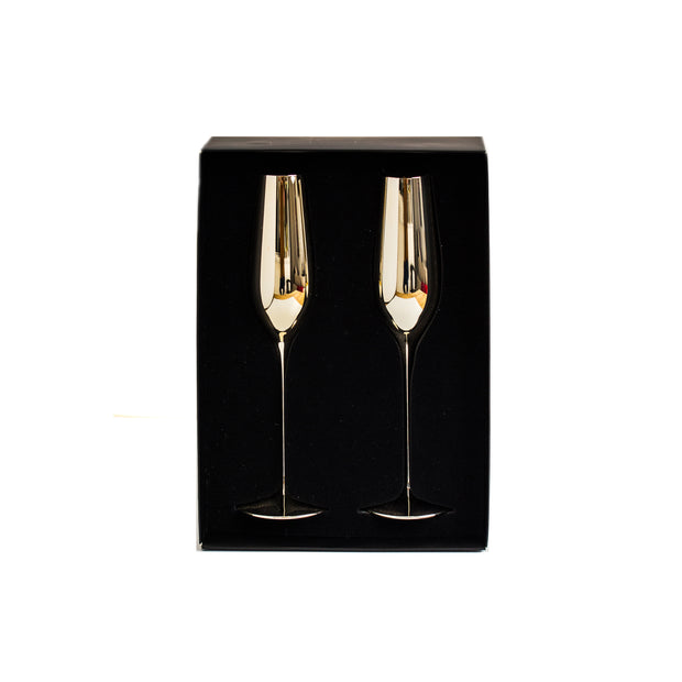 Royale Gold Champagne Glass (2 per set)