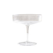 Comte Ribbed Champagne Glass (2 per set)