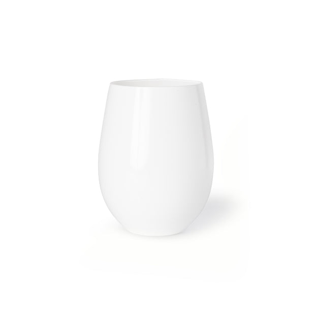 Royale White Tumbler (2 per set)